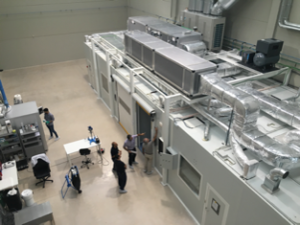 Bioinicia electrospinning facilities