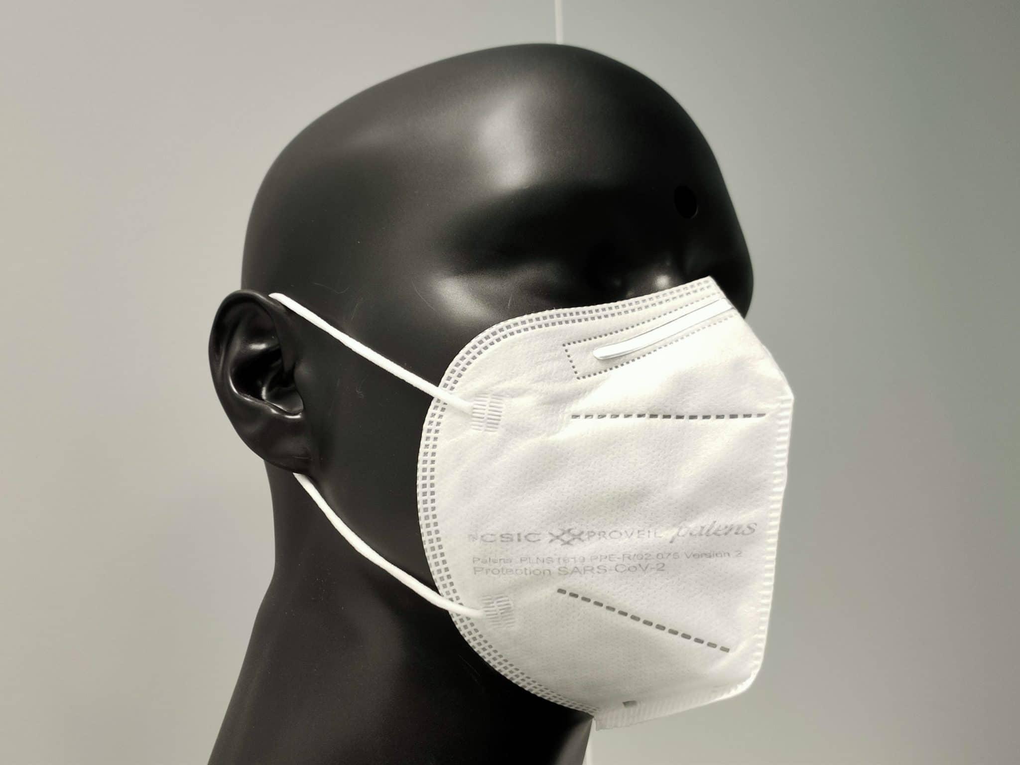 Máscara autofiltrante Palens